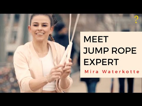 Get to know Jump Rope Expert Mira Waterkotte