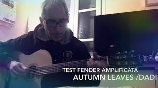 Autumn Leaves ( Cover )