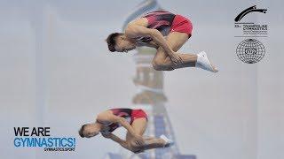 2018 Trampoline Worlds, St. Petersburg (RUS) - HIGHLIGHTS – Synchronised Trampoline