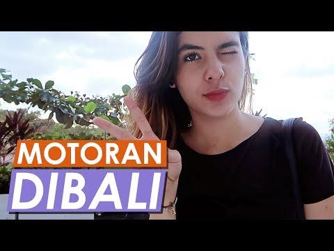 Steffi Zamora VLOG - MOTORAN DAN SERU-SERUANAN DI BALI