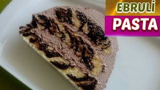 Ebruli Pasta Nasıl Yapılır? Şaşırtıcı Zebra Kek Yapımı