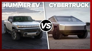 GMC Hummer EV vs. Tesla Cybertruck: SHOCKING PERFORMANCE