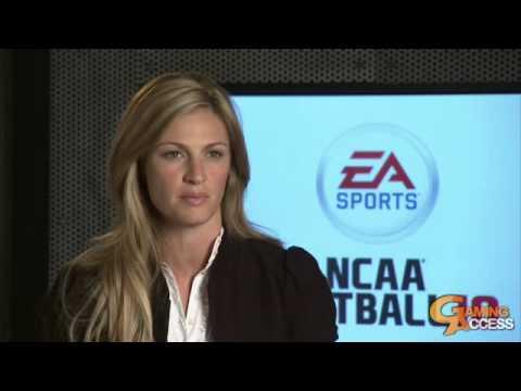 NCAA Football 10 Erin Andrews announcement