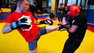 Trening Muay Thai Łamator Racibórz - maj 2018r.