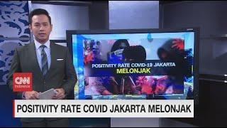 Positivity Rate Covid-19 Jakarta Melonjak