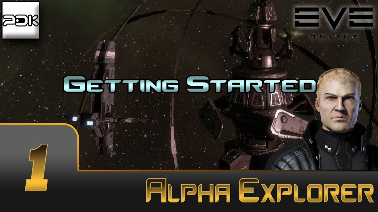 EVE Online: Exploration Alpha #1 - Getting started in Exploration