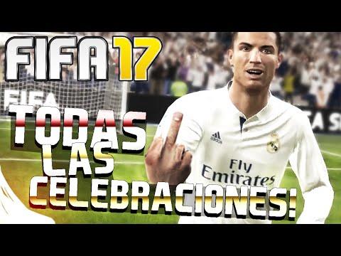 FIFA 17 - TODAS LAS CELEBRACIONES Y CELEBRACIÓN SECRETA | TUTORIAL - AzTTeKWolF