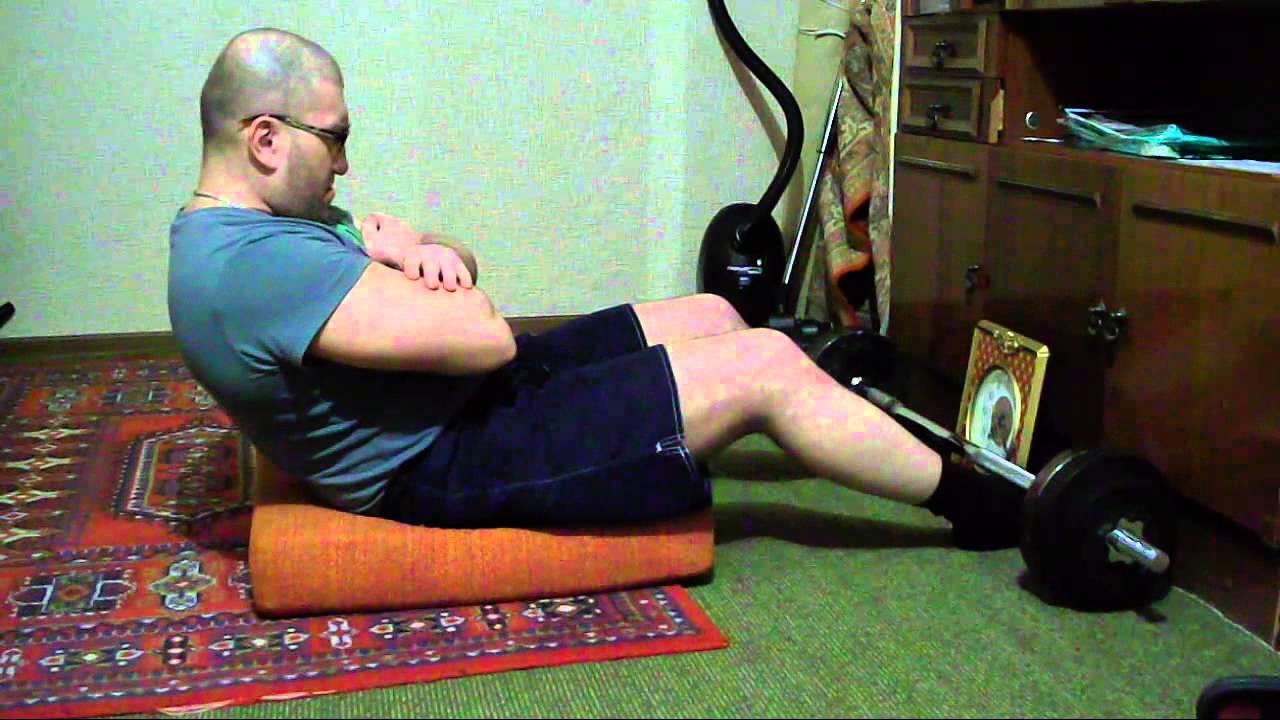 Пример стато-динамического упражнения.