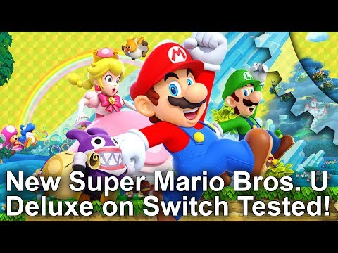 How New Super Mario Bros U Deluxe on Switch improves over