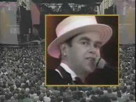 Elton John - Sad Songs (Say So Much) Live At Wembley 1984