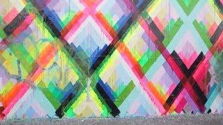 street art lower east side manhattan maya hayuk shepard fairey mike giant y brett cook