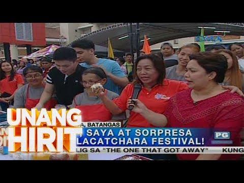Unang Hirit: Sarap, Saya at Sorpresa sa Calacachara Festival sa Calaca, Batangas