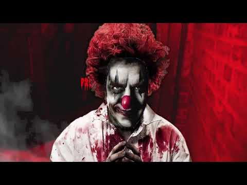 crazy devious clown