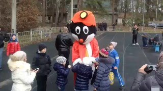Shakhtar greeted kids with New Year holidays