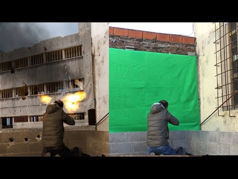 Green screen compositing and color matching - thumbnail