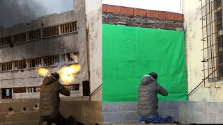 Green screen COMPOSITING and color matching -✔️