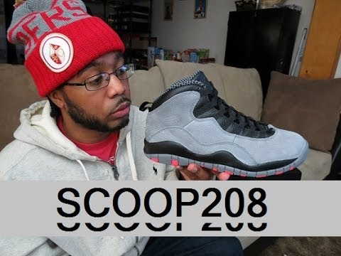 9fceaee4909704 JORDAN 10 COOL GREY   INFRARED ( SCOOP208) - YouTube