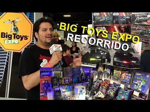 Recorrido por Expo #BigToys 2016 ★ Juegos Juguetes y Coleccionables ★