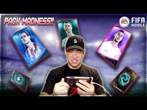 FIFA MOBILE 18 PACK MADNESS!! PREMIUM, TOTW, ALL PRO PACKS & MORE!! EP 2