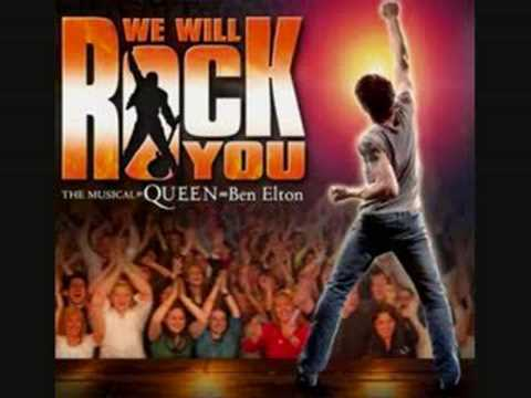Musical - We Will Rock You ( A Kind Of Magic )