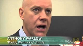"""Video A Look at """"Annie"""": Cast, Creatives and Sandy, Too! download MP3, 3GP, MP4, WEBM, AVI, FLV November 2017"""