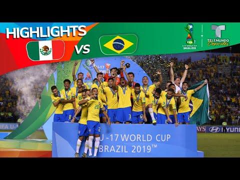 México Vs. Brasil: 1-2 Goals & Highlights | Copa Mundial Sub-17 | Telemundo Deportes