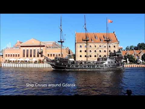 GDANSK   POLAND  AMAZING CITY   HD