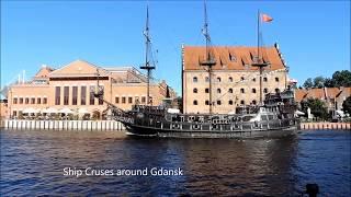 GDANSK   POLAND  AMAZING CITY   HD