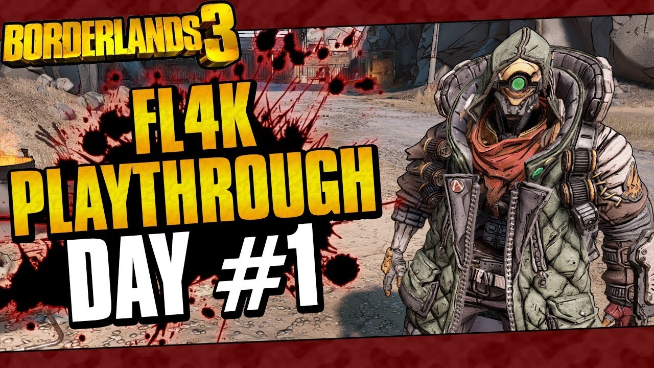 Borderlands 3 | FL4K Playthrough Funny Moments And Drops | Day #1 thumbnail