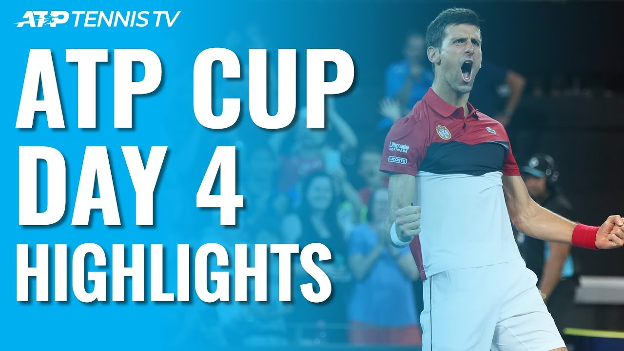 Djokovic Shines for Serbia; Nadal, Thiem Get Wins | ATP Cup 2020 Highlights Day 4