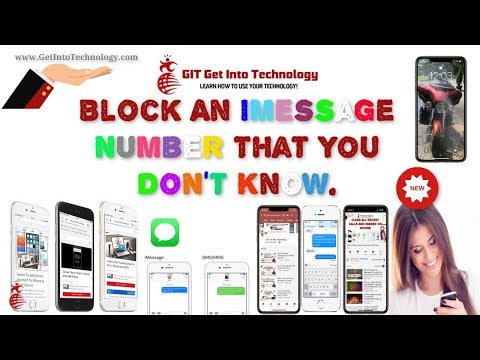 Block An iMessage Number That You Don't Know.