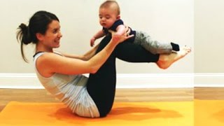 Funny Babies Helping Mom And Dad With Their Workouts [Funny & Cute]