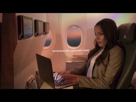 Air Canada: Introducing Our Comfort Fare