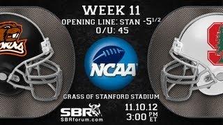 College Football Free Picks : Oregon St Beavers vs Stanford Cardinal