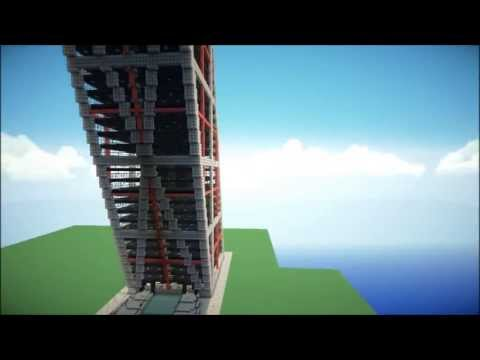 Minecraft Structures - Gate Of Europe