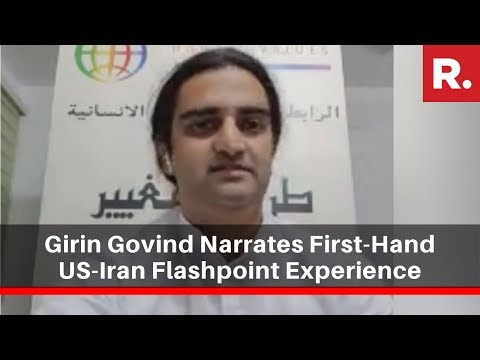 From Baghdad, Art Of Living's Girin Govind Narrates First-Hand Experience Of US-Iran Flashpoint