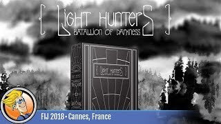 Light Hunters: Battalion of Darkness — game preview at FIJ 2018 in Cannes