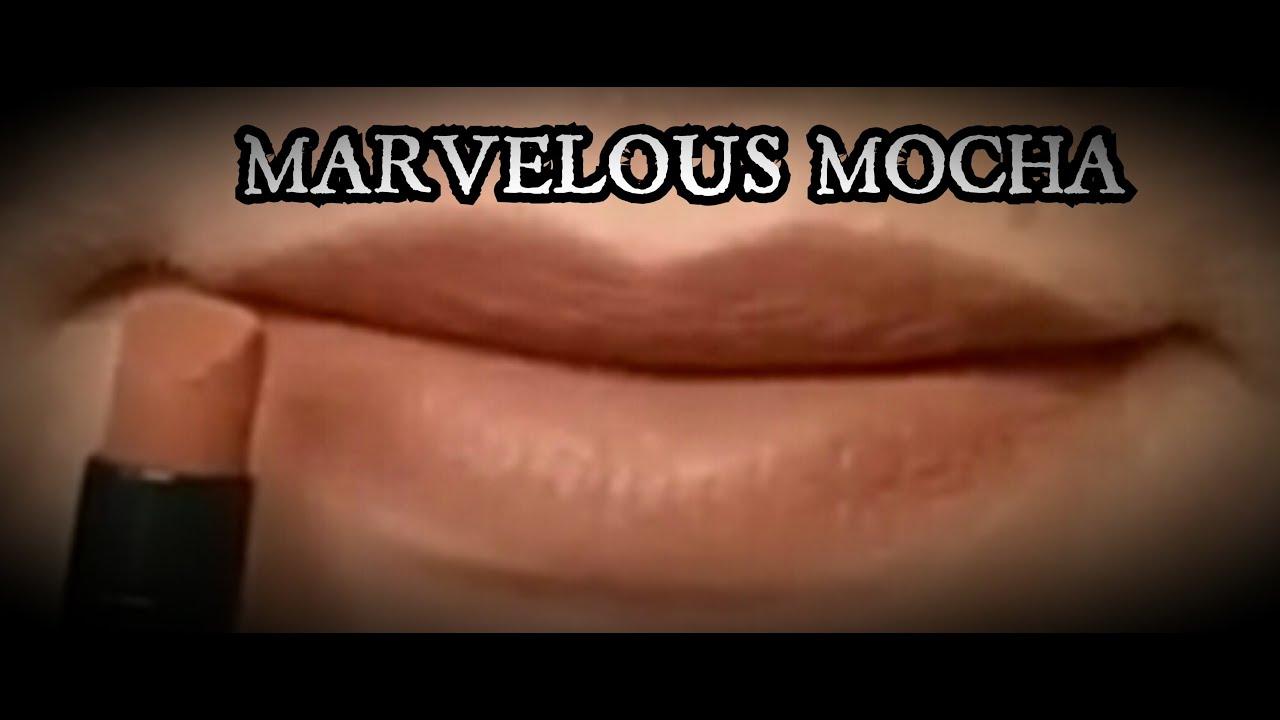 Marvelous Mocha Matte Lipstick Demo Youtube