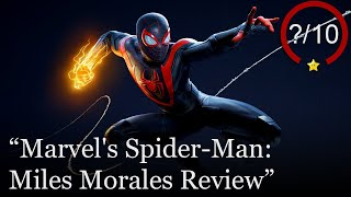 Marvel's Spider-Man: Miles Morales Review [PS5 & PS4] (Video Game Video Review)