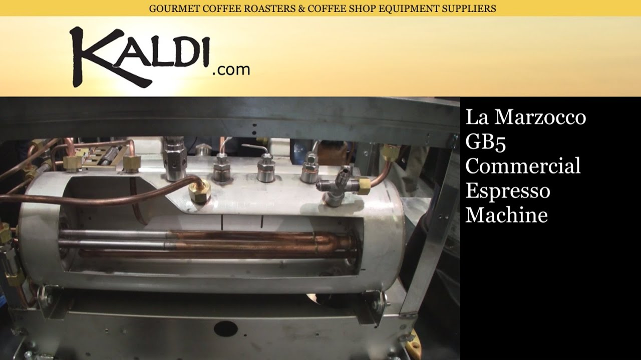 la marzocco gb5 naked exposed commercial espresso. Black Bedroom Furniture Sets. Home Design Ideas