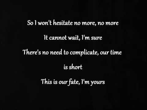 I'm yours - One Direction Lyrics