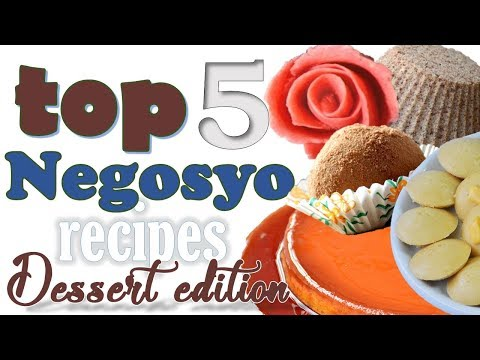 Top 5 NEGOSYO Recipes – Dessert Edition (Video COMPILATION) | It's More Fun in the Kitchen