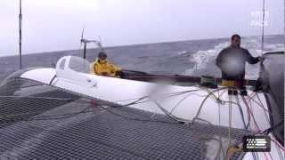 Krys Ocean Race - Day 3 - heavy weather sailing accross the Atlantic