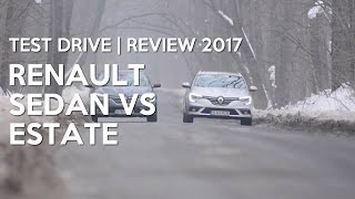 Renault Megane Sedan vs Estate cu Nono Semen | Test Drive | Review 2017