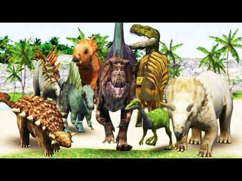 Dino Digger (18 Dinosaurs) - Archaeologist Jurassic   Eftsei Gaming