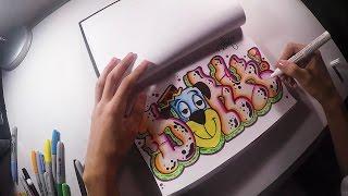 Blackbook Graffiti Session #1 DONKO