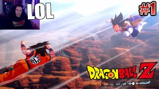 ¡¡DRAGON BALL Z: KAKAROT!! GOKU VS VEGETA (Saga Saiyan) *RESUMEN* [Alex FLW]