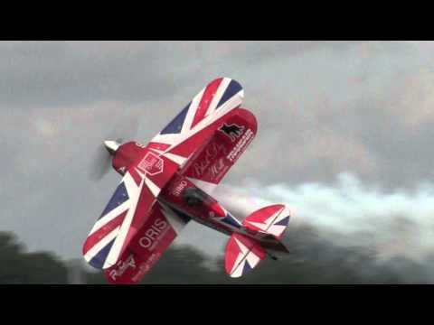 Rich Goodwin Pitts Special S2 At Dunsfold Wings And Wheels 2015