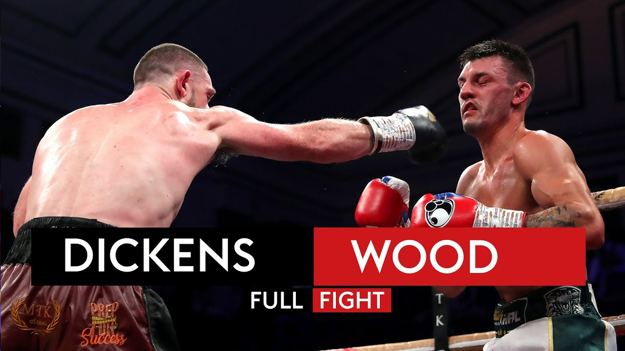 FULL FIGHT! Jazza Dickens vs Leigh Wood
