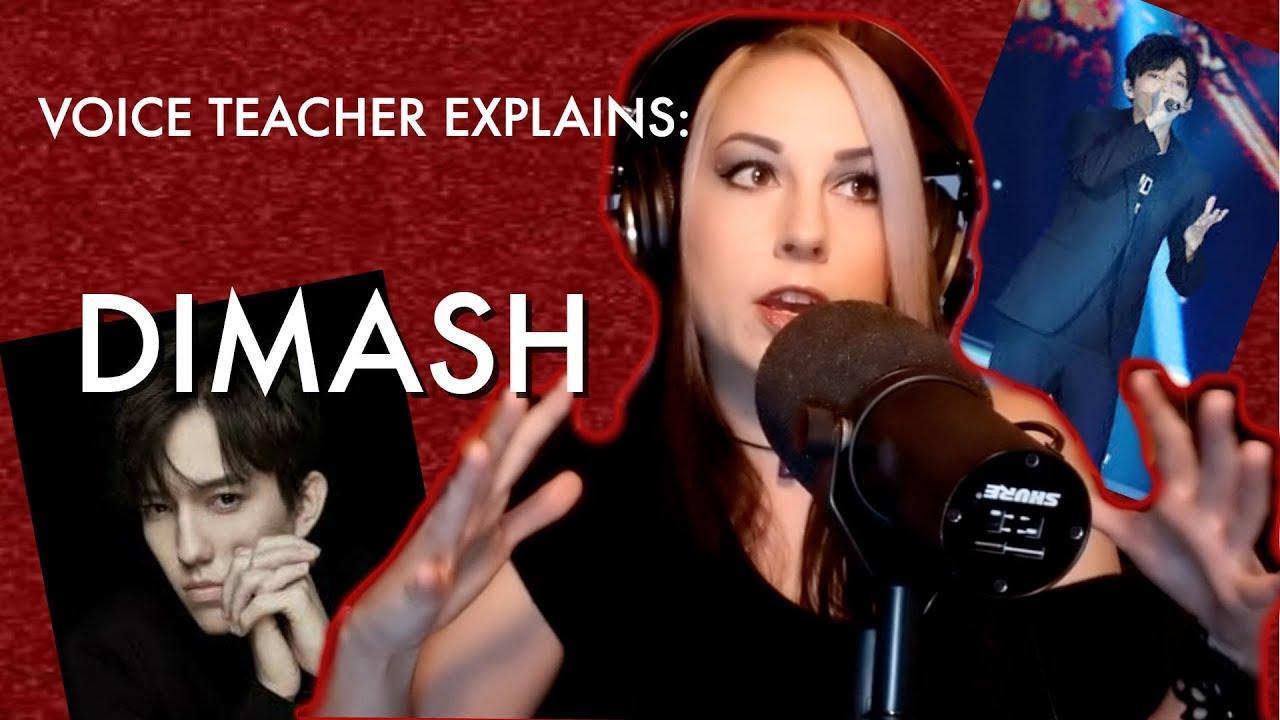 Voice Teacher Explains: Dimash!!